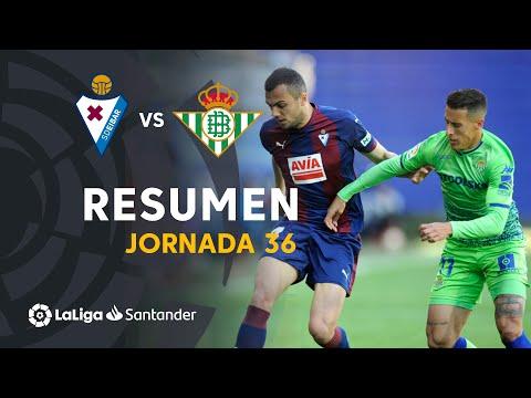 Resumen de SD Eibar vs Real Betis (1-0)