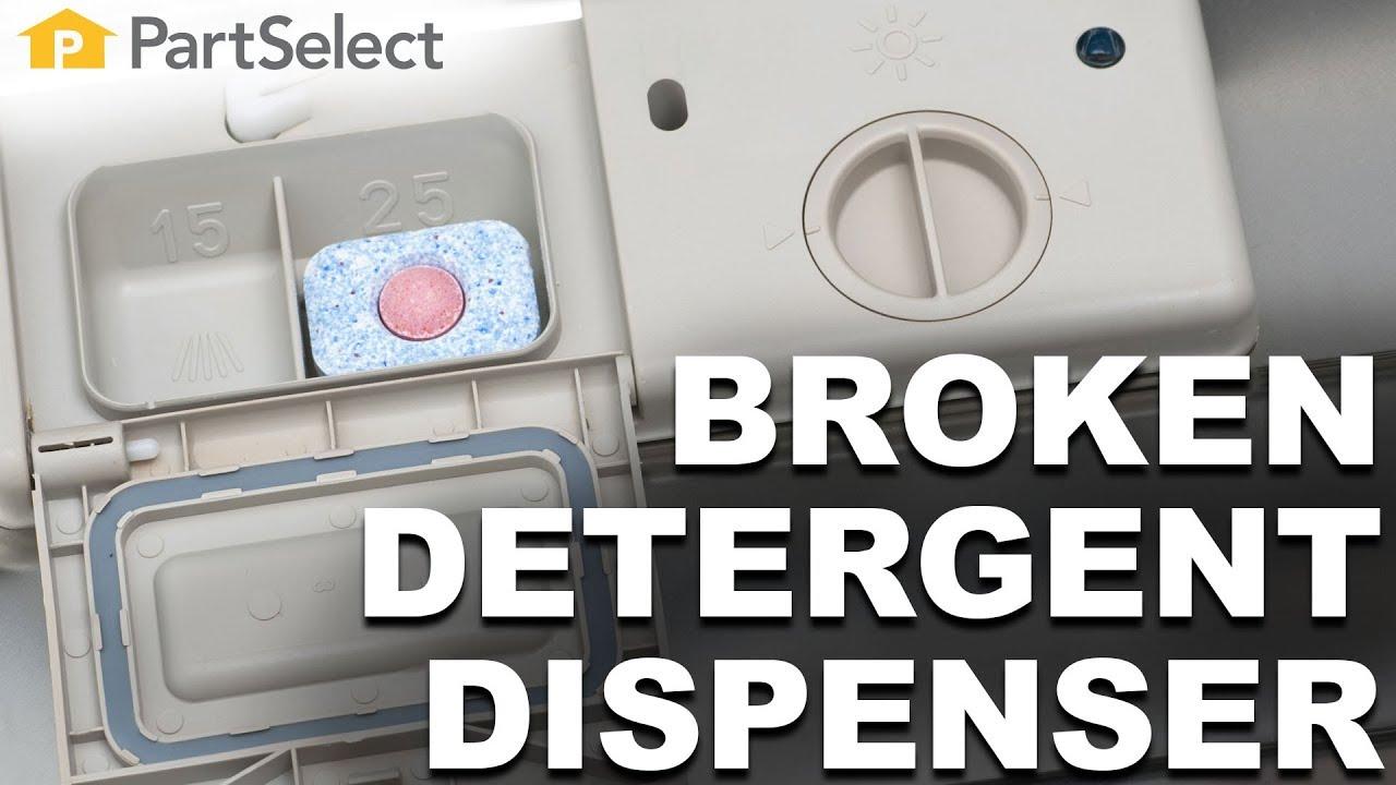 Why Won T My Dishwasher Dispense Detergent Partselect Com Youtube