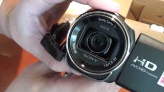 Моя новая видеокамера Sony HDR-CX400E для съемки обзоров