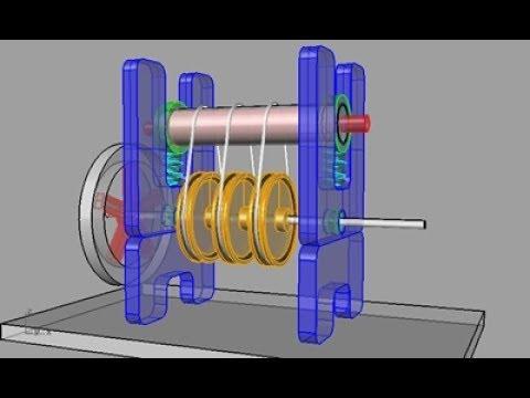 Large Nitinol Engine / Alternative Energy / Must See ...