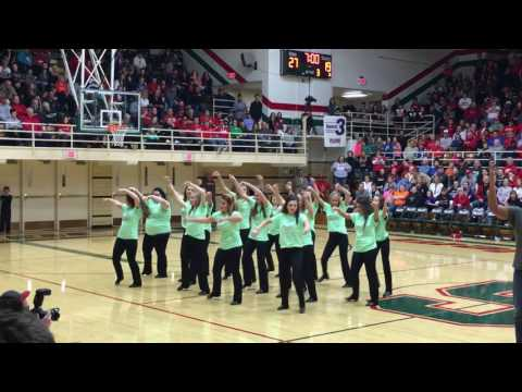 Guy/Girl dance. Salem Community High School dance team- Salem, il. 2016