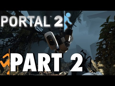 Portal 2 (1080p) - The Cold Boot - Part 2 - Jalen Force Gaming