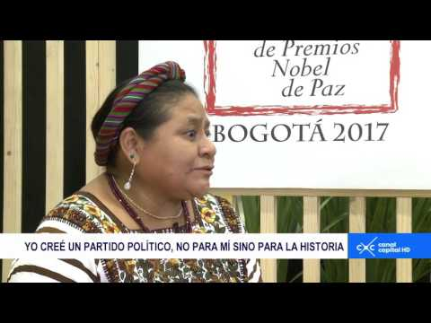 Entrevista Claudia Palacios - Rigoberta Menchú y Kerry Kennedy