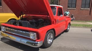 1965 Chevy C10 SWB Stepside Pickup Truck 2015 Coker Tire Cruise In
