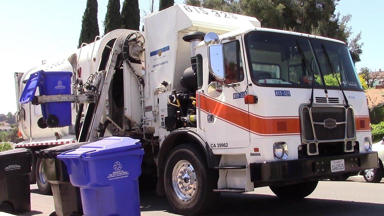 "City Of El Cajon >> City of San Diego - (ESD): ""A Garbage Day in San Carlos"" - YouTube"