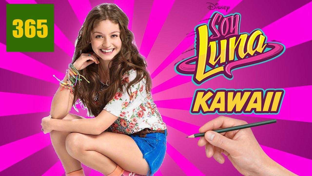 Comment Dessiner Soy Luna Style Kawaii Comment Dessiner Soy Luna