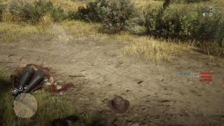 Red Dead Redemption 2 melee goes wrong head gone lol
