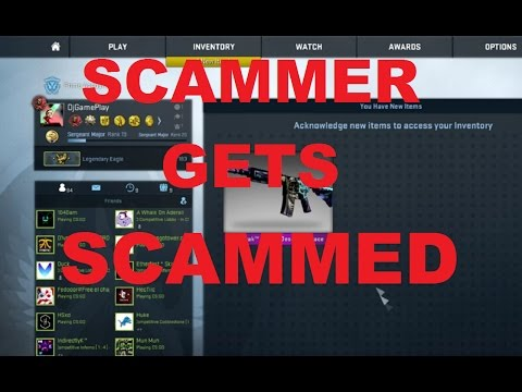 CS:GO - Scammer Gets Scammed! NOT CLICKBAIT!