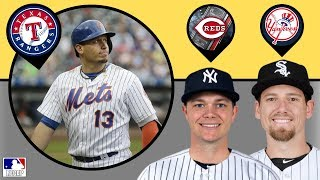 Asdrubal Cabrera SIGNS with Rangers, Sonny Gray TRADED! Danny Farquhar is Back!