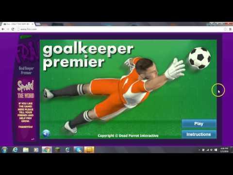 goalkeeper premier / friv