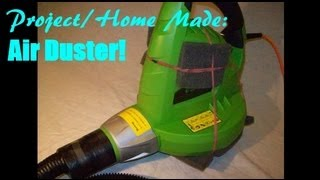 Homemade/DIY Air Duster/Cleaner (to safely clean inside electrical equipment)