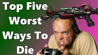 top 5 worst ways to die bo2 bo1 and waw zombies top 5 series