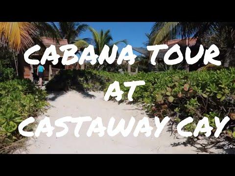 CASTAWAY CAY CABANA TOUR + PIRATE NIGHT | L & S VLOG DAY 5 // WDWGIRL