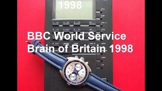 BBC World Service 1998 Brain of Britain 2/3