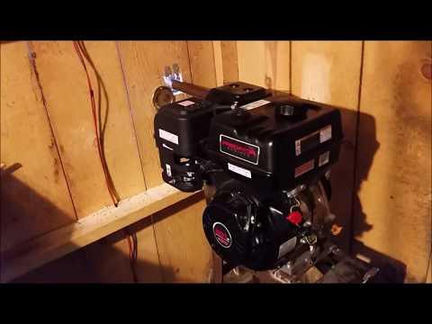301cc Predator 1800 RPM cost per kilowatt hour results