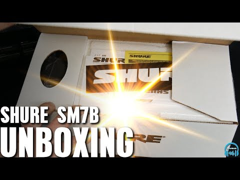 SHURE SM7B - Unboxing