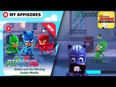 PJ Masks Catboy Finds NEW! iPad Game