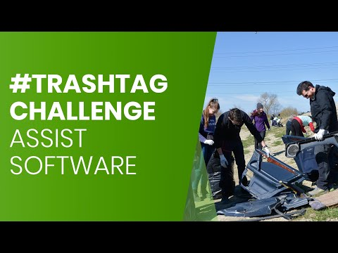 ASSIST Software accepted the #trashtag challenge | See how it was!