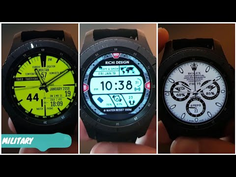 100 BEST OF THE BEST FREE WATCH FACES FOR GEAR S3 | 2018 | EDITION |