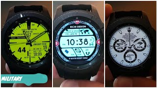 100 Best OF The Best Free Facer Watch Faces | FACER EDITION |