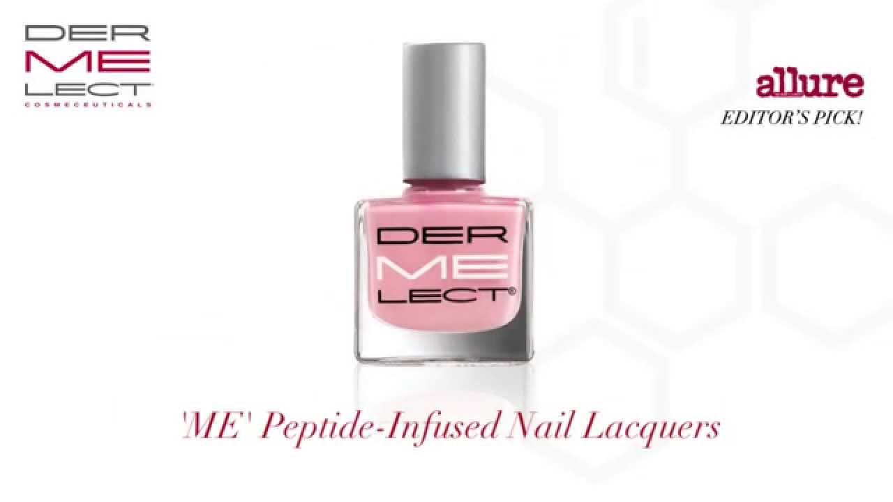 Dermelect \'ME\' Peptide-Infused Color Treatment Lacquer - YouTube