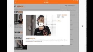 Мобильное фитнес-приложение DISQ