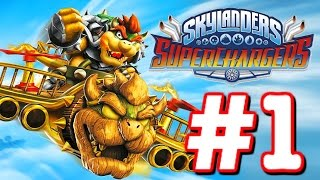 Skylanders Superchargers Part 1 - Gameplay Walkthrough - Skylanders Superchargers Chapter 1 2 3