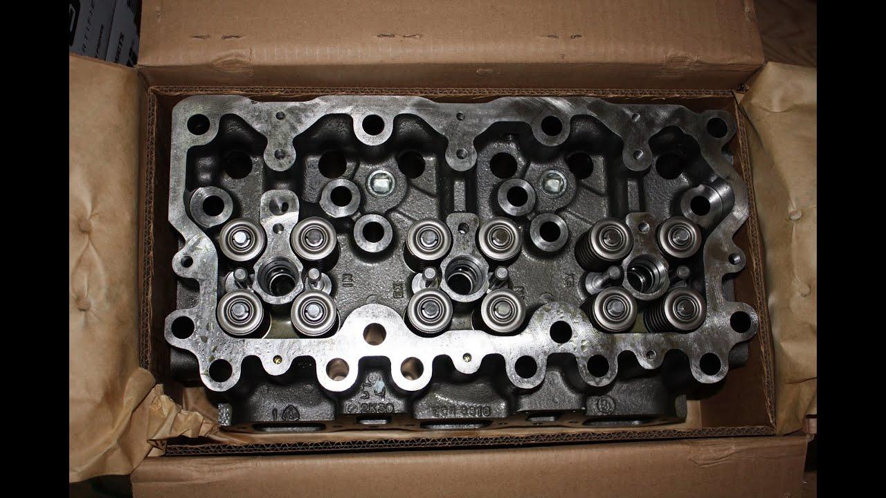 Головка блока цилиндров проверка на герметичность клапанов Daewoo Matiz.