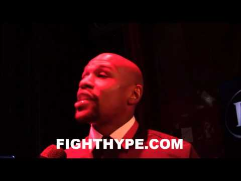 FLOYD MAYWEATHER GOES OFF ON FIGHTERS COMPLAINING ABOUT MONEY; EXPLAINS WHAT HE WENT THROUGH