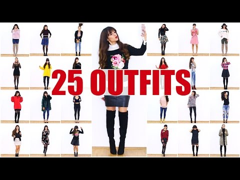 1 GIRL 25 OUTFITS 👗 LOOKBOOK 2017 | KINDOFROSY