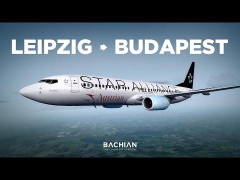 Prepar3D - B737-800 / Leipzig → Budapest online pela Ivao