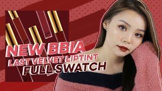 SON MỚI!! ♡ Full Swatch Bbia Last Velvet Lip Tint Ver 5 ♡ Trinh Pham