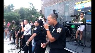 Facebook LIVE - Bronx Youth Connects with Bronx Cops