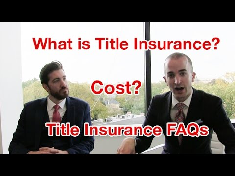What Is Title Insurance? | Title Insurance Cost | How Much Is Title Insurance?