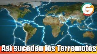 Así suceden los Terremotos