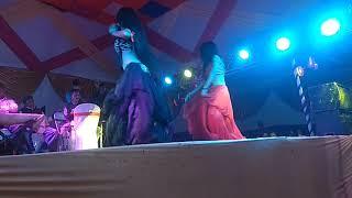 Mahi & manisha jha ka super hit dans  jo bich bajriya tune pakdi paeya mai khidki khol dungi