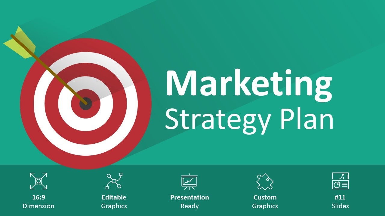 marketing strategy plan editable powerpoint - youtube, Modern powerpoint