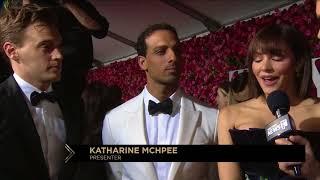 Red Carpet: Katharine McPhee, Erich Bergen & Ari'el Stachel (2018)