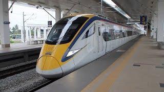 KTM ETS Train Ride from Gemas to Penang