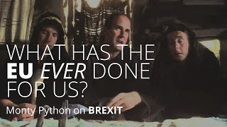 What has the EU ever done for us? - Monty Python
