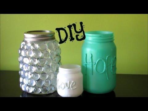 20 cosas que puedes hacer con frascos vacíos   taringa!
