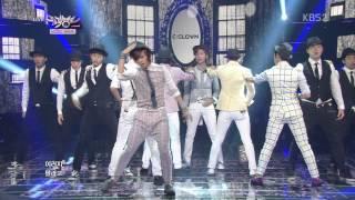 Video [130614] C-Clown - Shaking Heart (Goodbye Stage) @ Music Bank download MP3, 3GP, MP4, WEBM, AVI, FLV Desember 2017