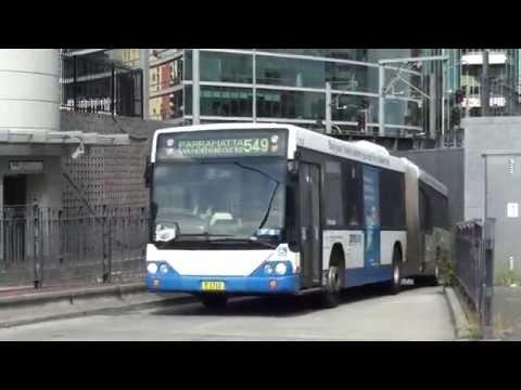 Buses at Parramatta - Sydney Transport
