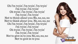 Bad liar- selena gomez (lyrics) -