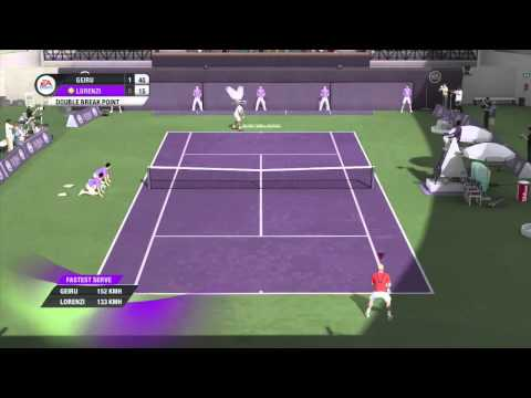 Grand Slam Tennis 2 Xbox 360 Gameplay