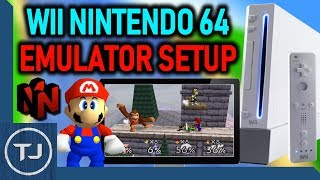 The Best Wii Nintendo 64 Emulator! (Not64 Setup!)