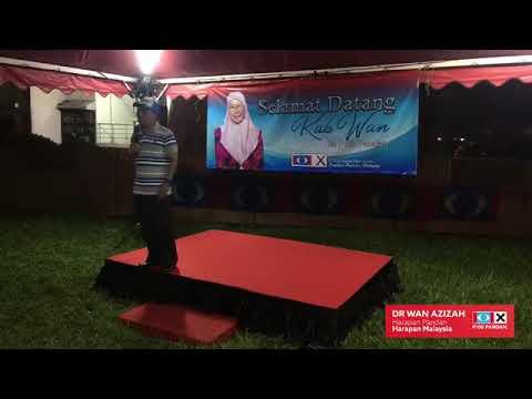 Ceramah Umum Harapan DS Dr Wan Azizah (Calon Parlimen Pandan)