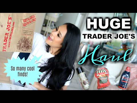 Huge Trader Joe's Haul 2018 MissLizHeart