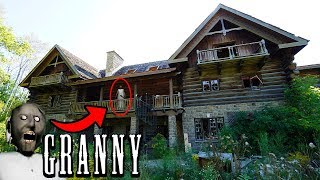 DONT GO TO GRANNYS HOUSE IN REAL LIFE FROM THE HORROR GAME!   I FOUND GRANNYS HOUSE IN REAL LIFE