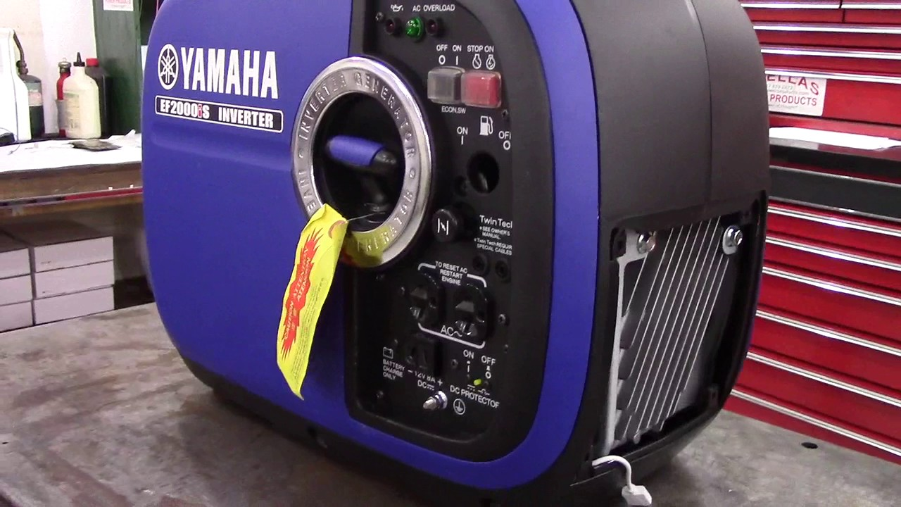 Yamaha EF2000iS Generator Remote Control Shut Off by  pinellaspowerproducts com
